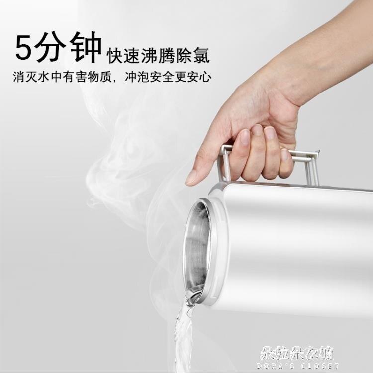 電熱水壺豫立N5旅行電熱水壺110V日本旅遊用隨身攜帶折疊便攜式燒水壺小型220V