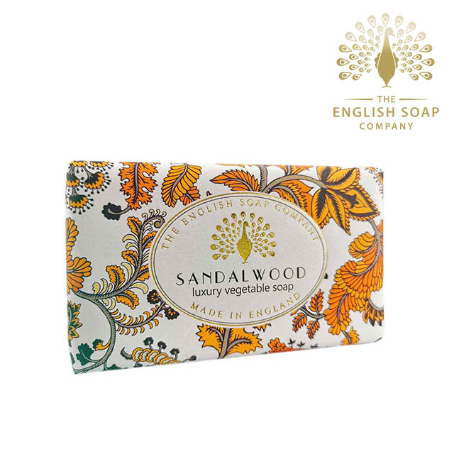 The English Soap Company 檀香 Sandalwood 190g 乳木果油復古香氛皂