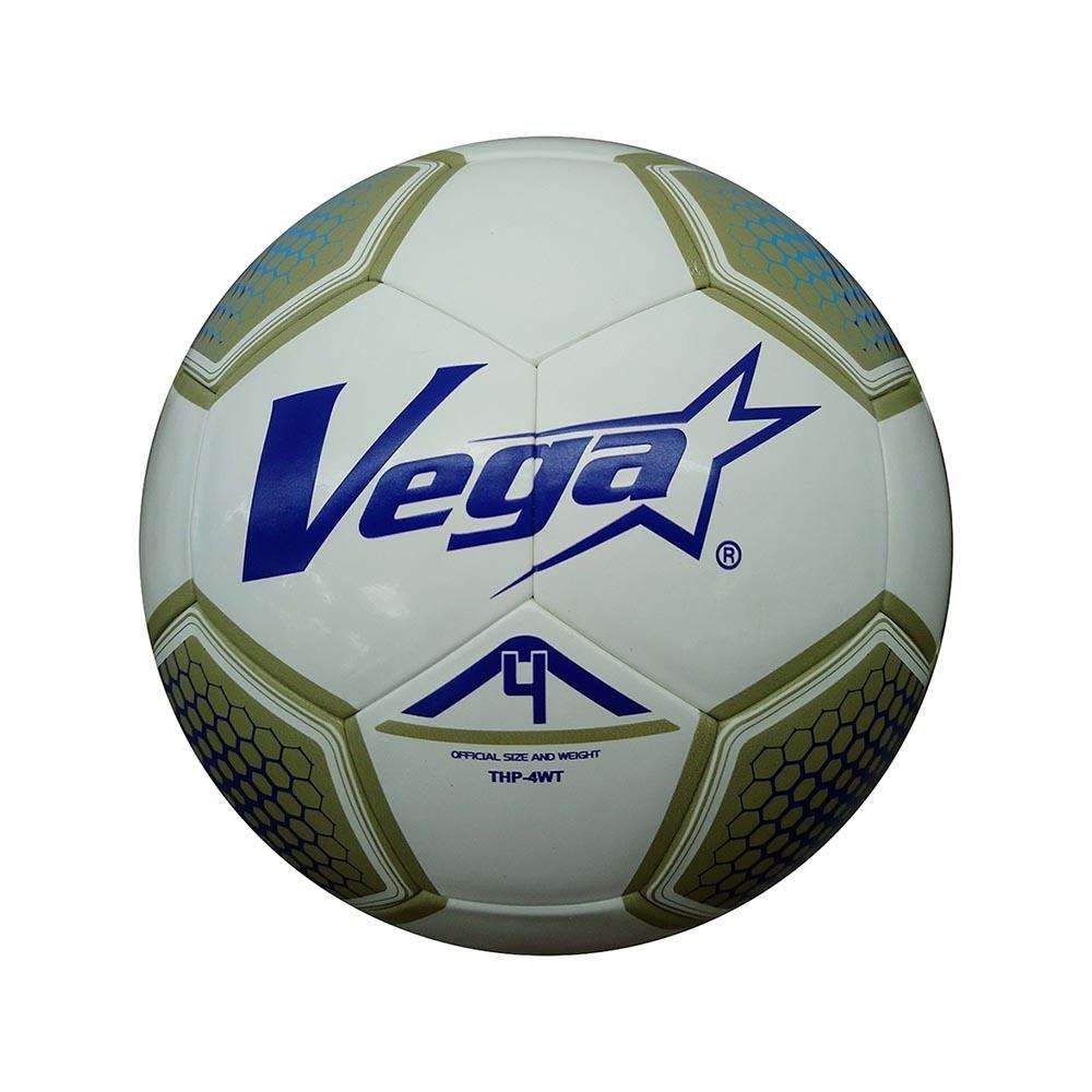 Vega 高彈跳貼皮足球 #4 白