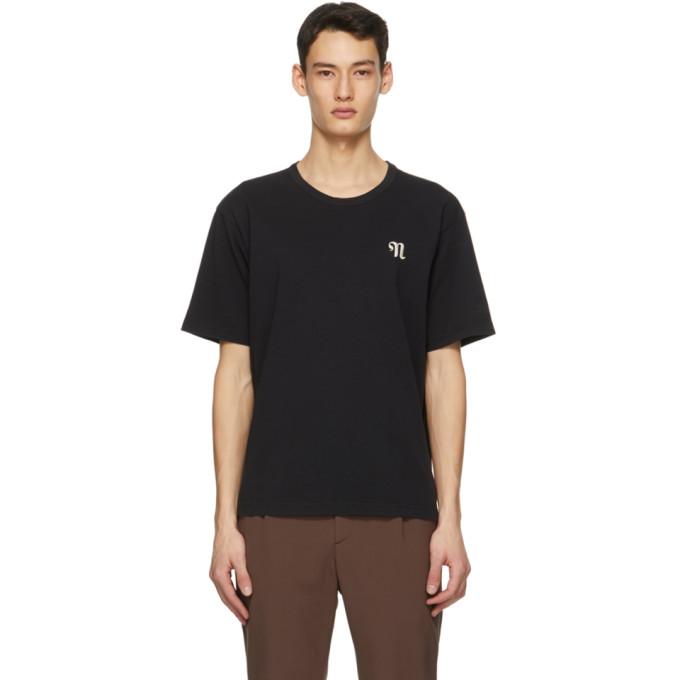 Nanushka 黑色 Reece T 恤