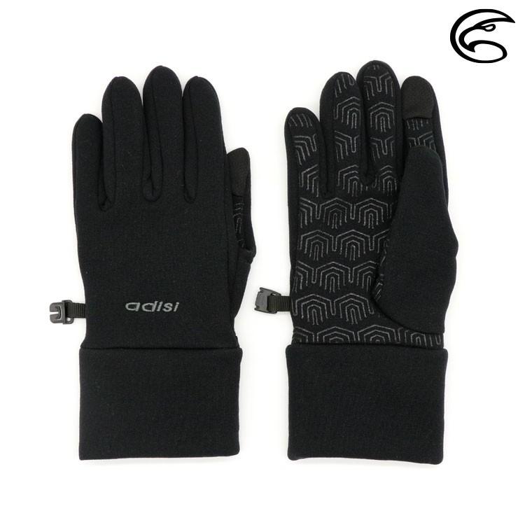 ADISI Power Stretch 保暖觸控手套 AS20055(M-L) / 手指觸控 保暖手套