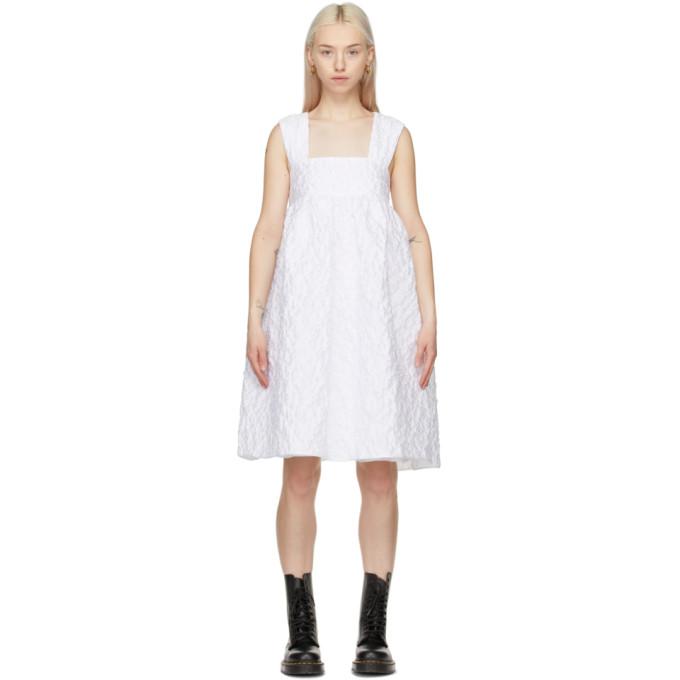 Cecilie Bahnsen SSENSE 独家发售白色 Pandora 连衣裙