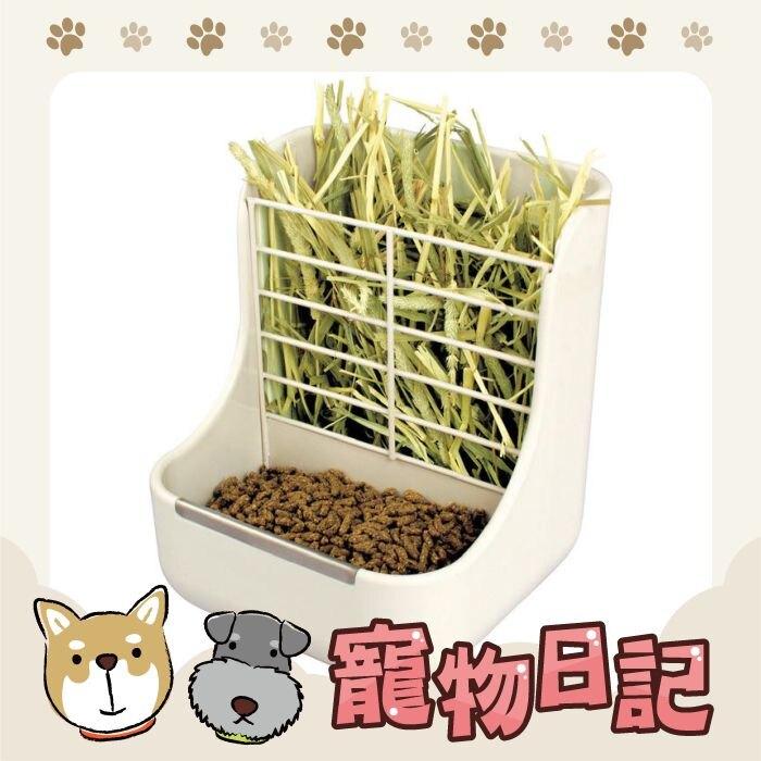 日本GEX愛兔固定式雙用餵食器