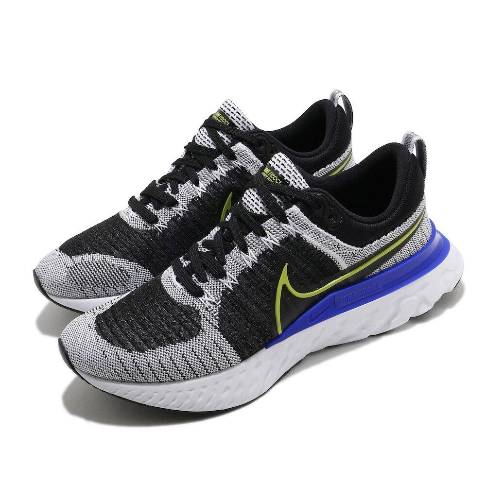 NIKE 慢跑鞋 React Infinity Run 男鞋 輕量 透氣 舒適 避震 路跑 健身 黑 白 [CT2357-100]