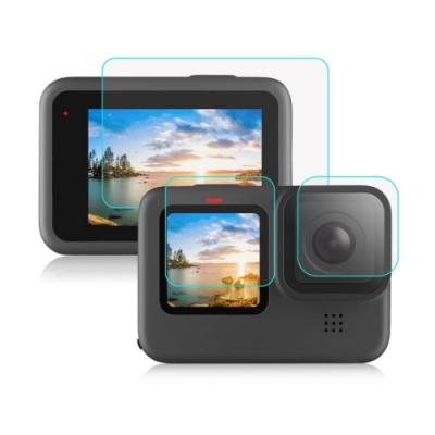 Qii GoPro HERO 9 Black 玻璃貼(鏡頭+大螢幕+小螢幕)