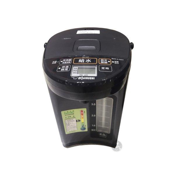 ZOJIRUSHI 象印 微電腦熱水瓶 CD-NAF40 4L 原廠保固 黑皮TIME 15173