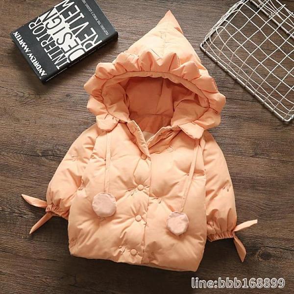 女童羽絨服 女童冬裝羽絨棉服兒童公主2棉衣小童0一3歲寶寶洋氣加厚外套棉襖4 星河光年