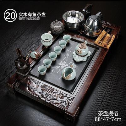 整套紫砂功夫茶具(主圖款23)