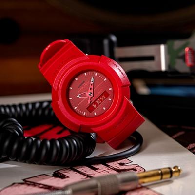 CASIO G-SHOCK 經典復刻雙顯運動錶(AW-500BB-4E)