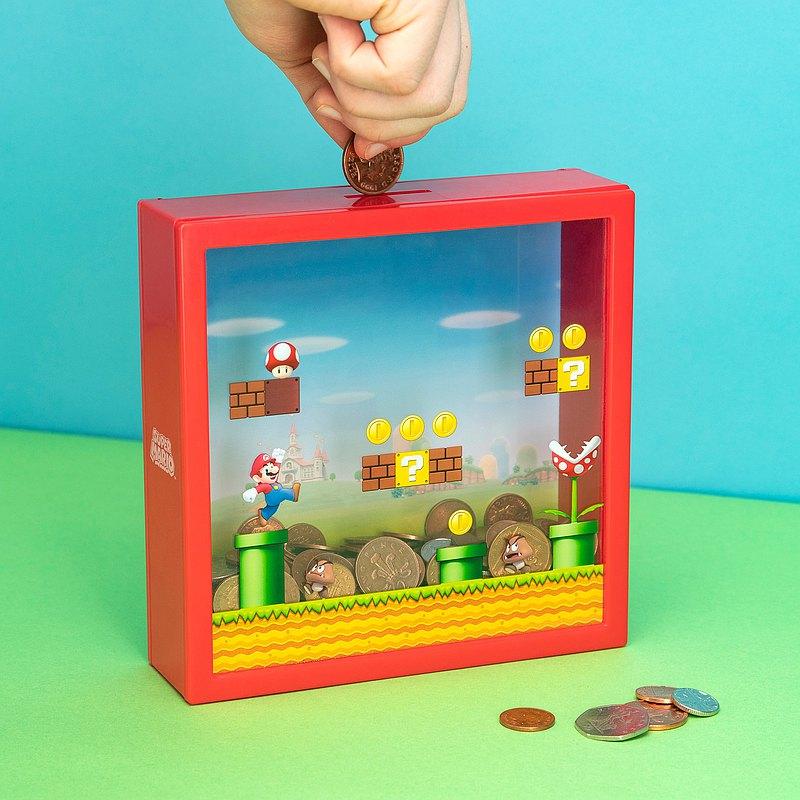 【完美生日/兒童禮物】英國 Paladone 超級瑪利歐3D存錢筒零錢盒