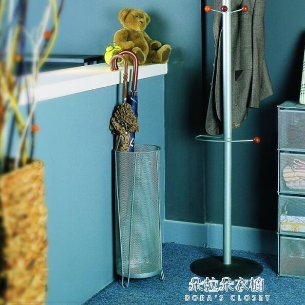 雨傘架 鐵藝絲網居家用簡約雨傘桶收納架掛傘架創意客房放傘桶日式