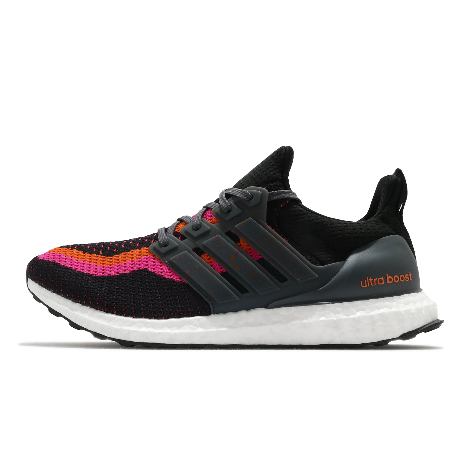 adidas 慢跑鞋 Ultraboost DNA 香港 城市系列 黑 橘 桃紅 漸層 男鞋 【ACS】 FZ4866