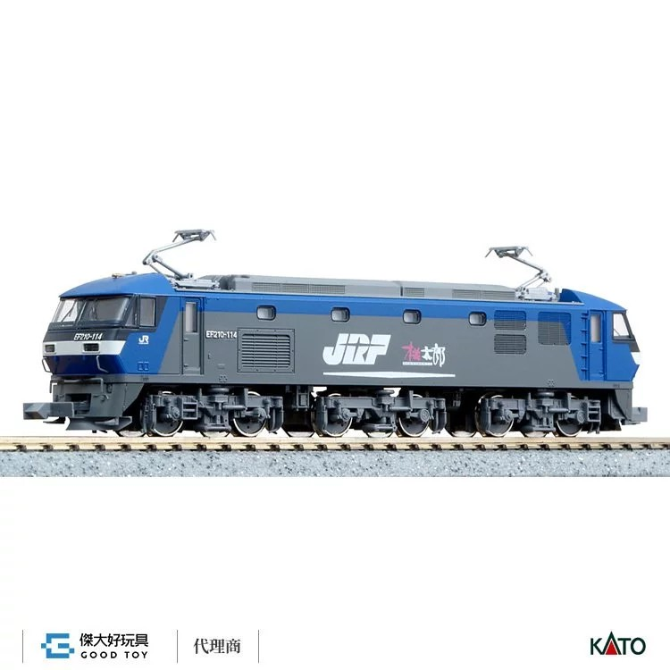 KATO 3034-4 電氣機關車 EF210-100 單臂集電弓