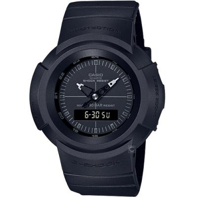 CASIO G-SHOCK 經典復刻雙顯運動錶(AW-500BB-1E)