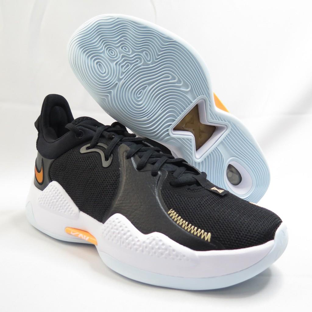 NIKE PG 5 EP男款 運動鞋 XDR耐磨 籃球鞋 CW3146001 黑橘 大尺碼【iSport愛運動】