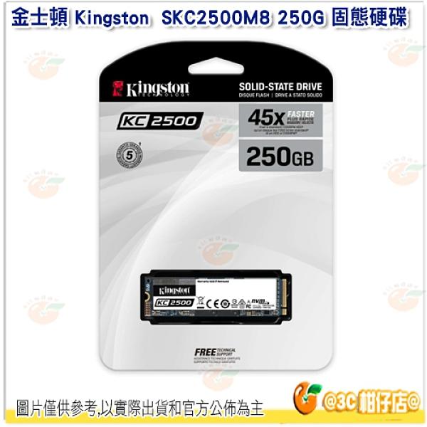 金士頓 Kingston SKC2500M8 250G KC2500 NVMe PCIe SSD固態硬碟 3500MB
