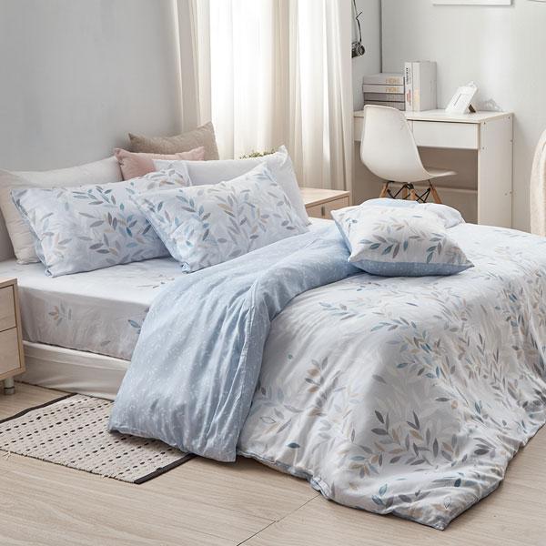 床包被套組(薄被套)-雙人加大/40支/ 萊塞爾天絲四件式 / 傾城 台灣製
