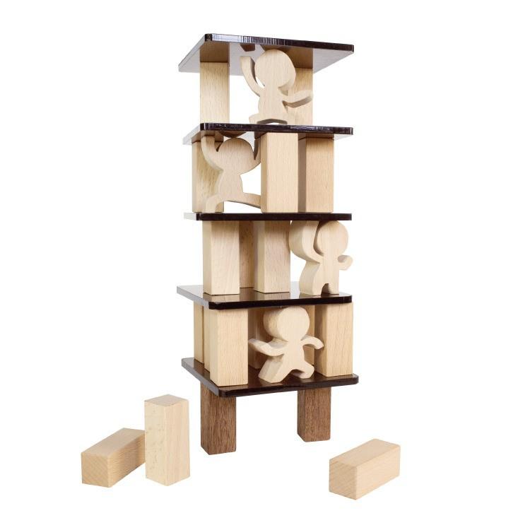 木匠兄妹 武林高手疊疊樂桌遊 MIT台灣在地工藝家製造