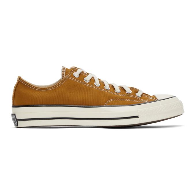 Converse 黄褐色 Chuck 70 OX 运动鞋