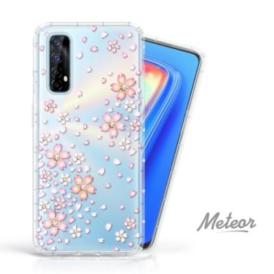 Meteor realme 7 5G 奧地利水鑽殼 - 櫻花