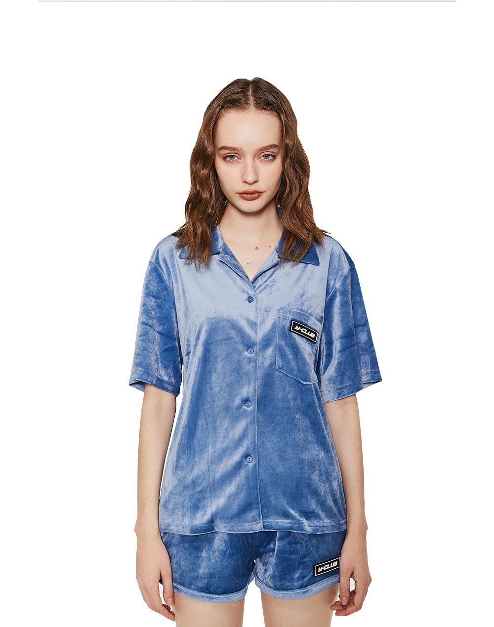 Velvet Shirt-YUYU