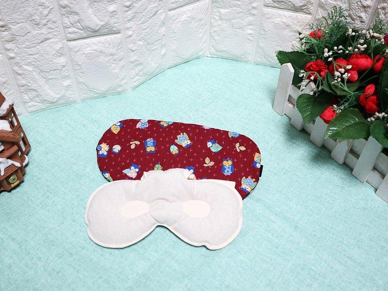 貓頭鷹~紅豆溫敷眼罩 mask 可替換 調長短 電腦族手機族最佳保養眼睛方式
