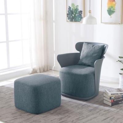 MUNA 珊德造型椅(共四色)(不含椅凳) 70X70X76.5m