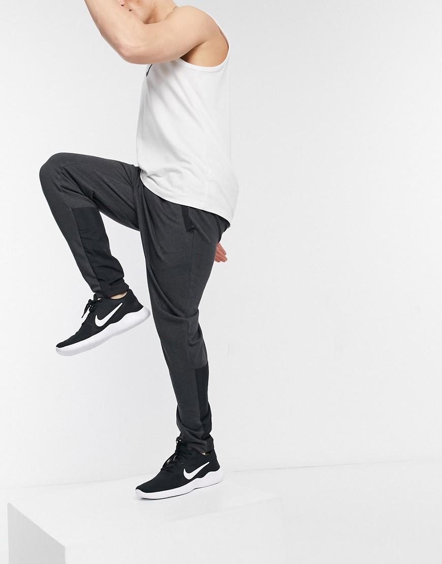 Nike Training Dri-FIT joggers in grey