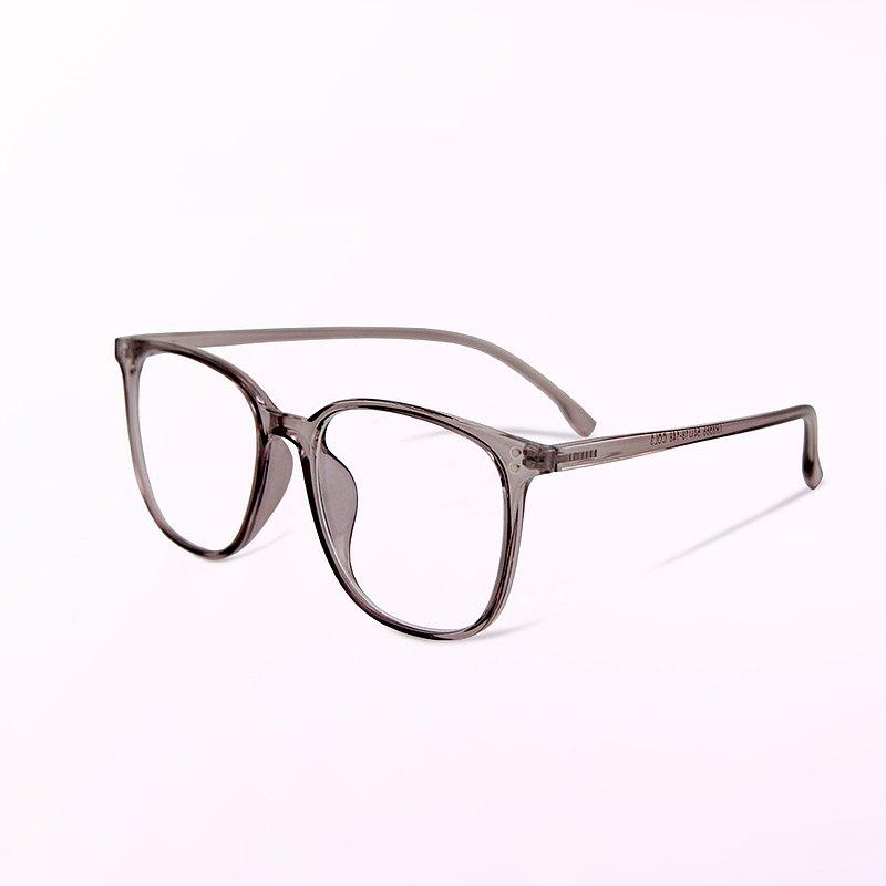 幻境的初光傾瀉│經典百搭款迷蝶紫TR90輕量方框UV400濾藍光眼鏡