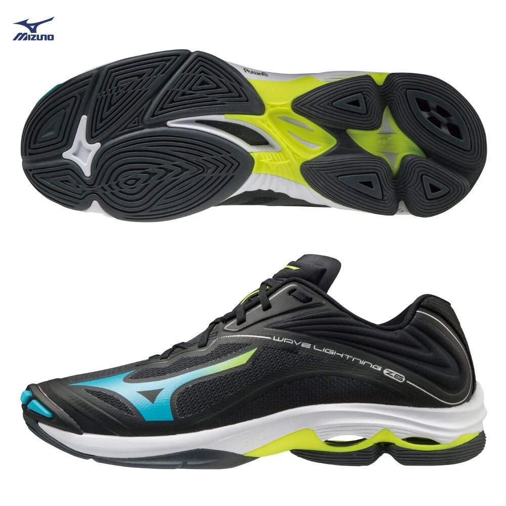 MIZUNO WAVE LIGHTNING Z6 男鞋 排球 輕量 避震 耐磨 止滑 黑【運動世界】V1GA200023