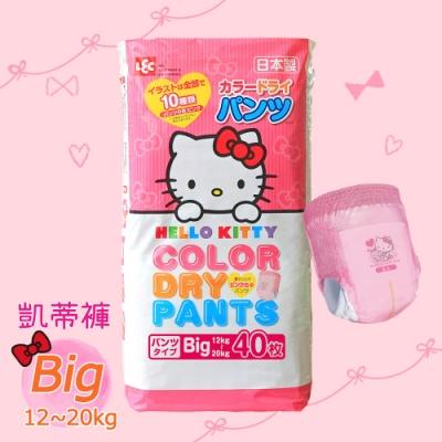 日本LEC Hello Kitty凱蒂紙尿褲 Big 80片 (12~20Kg)