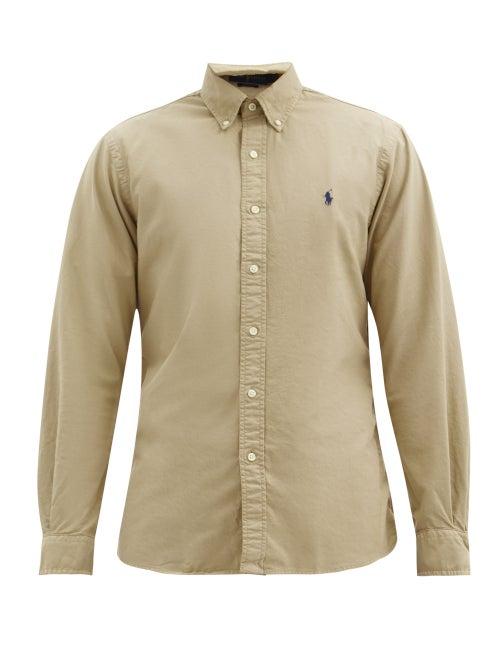 Polo Ralph Lauren - Slim-fit Cotton Shirt - Mens - Tan