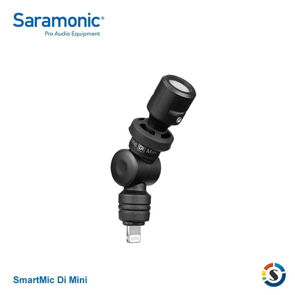 Saramonic楓笛 SmartMic Di Mini 智慧型手機麥克風(Lightning接頭)