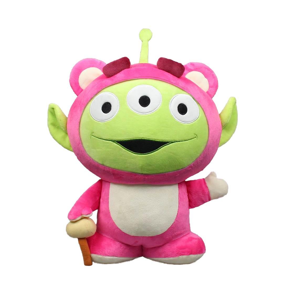 30cm 玩具總動員 立姿三眼怪變裝熊抱哥