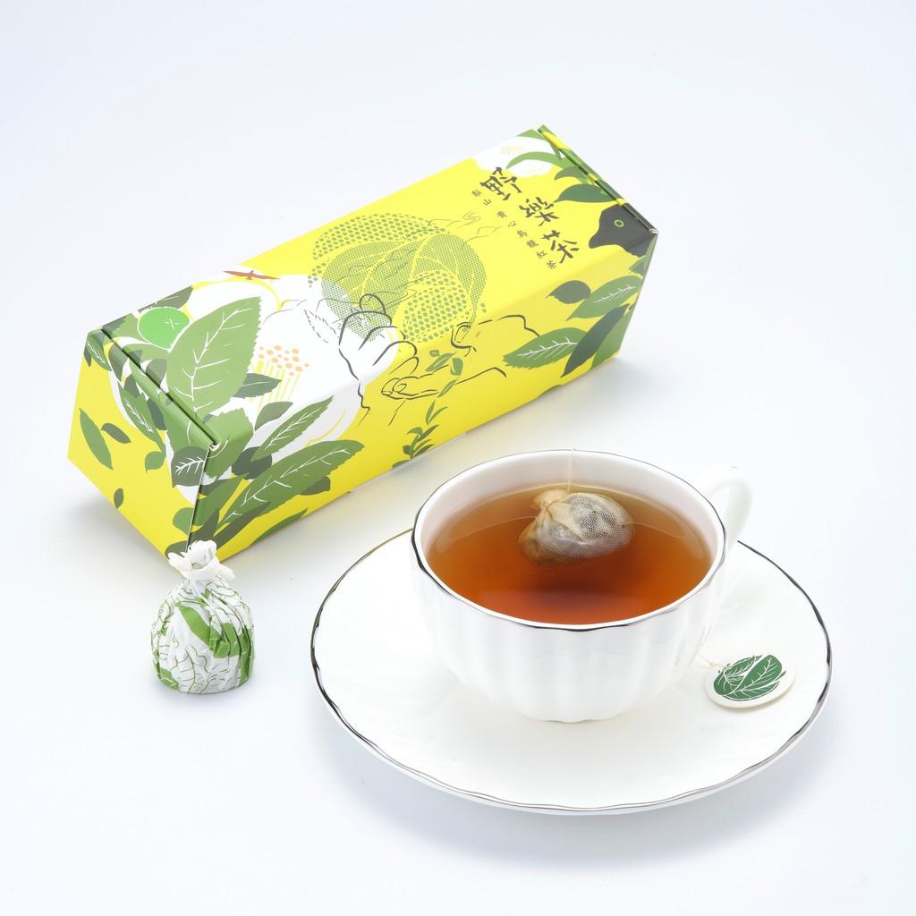 【野樂茶】太極茶包-梨山青心烏龍紅茶(4入)