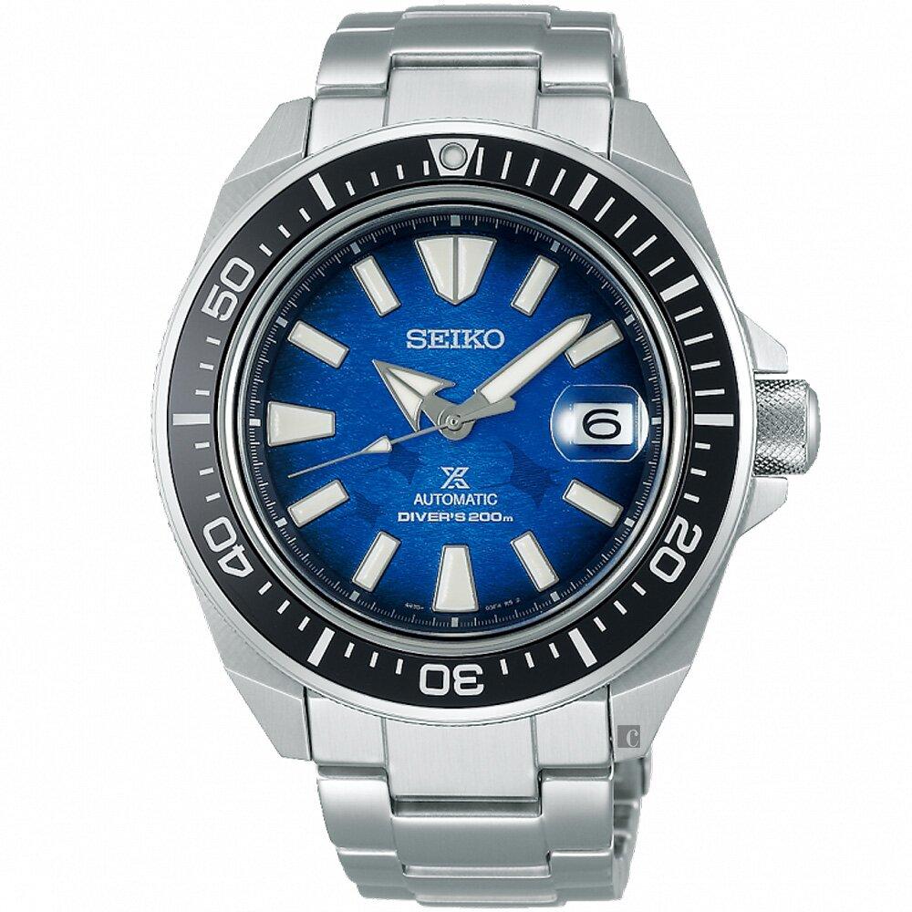 SEIKO 精工 Prospex 愛海洋 魟魚 200米潛水機械錶(SRPE33J1/4R35-03W0B)
