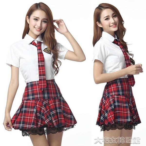 水手服女學生制服英倫學院風派JK校服日韓水手服演出服女襯衫百褶裙套裝