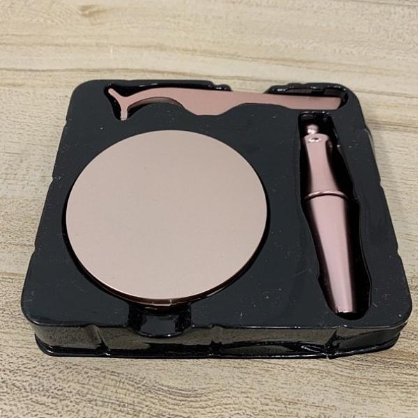 韓國黑科技磁吸式假睫毛 磁性眼線液套組附專用睫毛夾(777-9042)