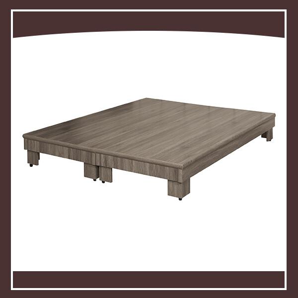 6尺6分木心板架高床底-古橡 21324043027