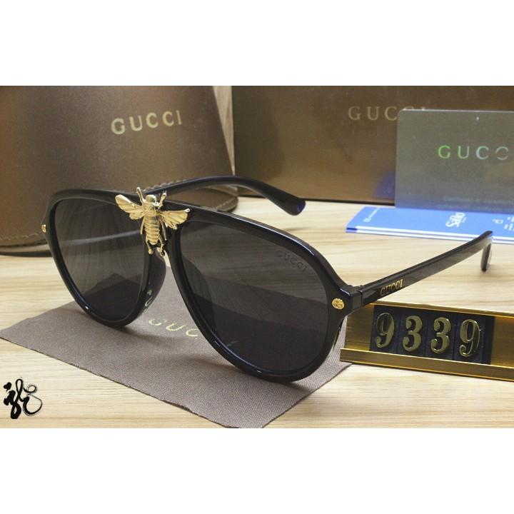 新款實拍專櫃 Gucci古奇墨鏡材質 偏光款太陽眼鏡 酷帥眼鏡男女同款 輕便百搭 經典款眼鏡
