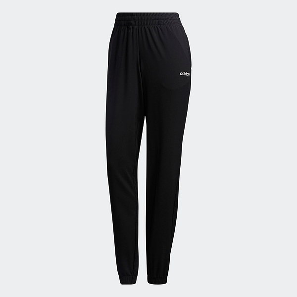 Adidas W E Pln Stan Pt [GD2897] 女 長褲 運動 休閒 訓練 縮口 錐型褲 愛迪達 黑
