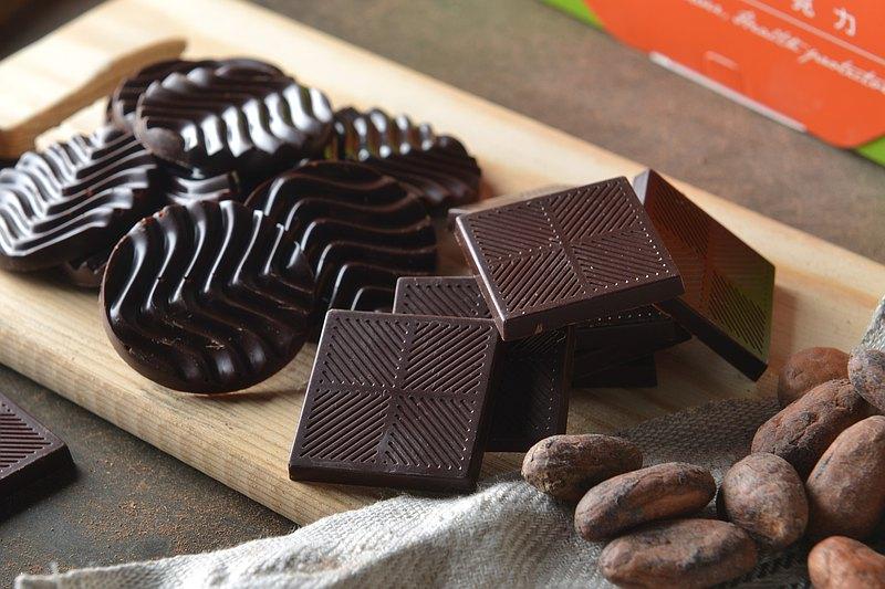 雙享二合一(85%+100%)純黑巧克力禮盒組