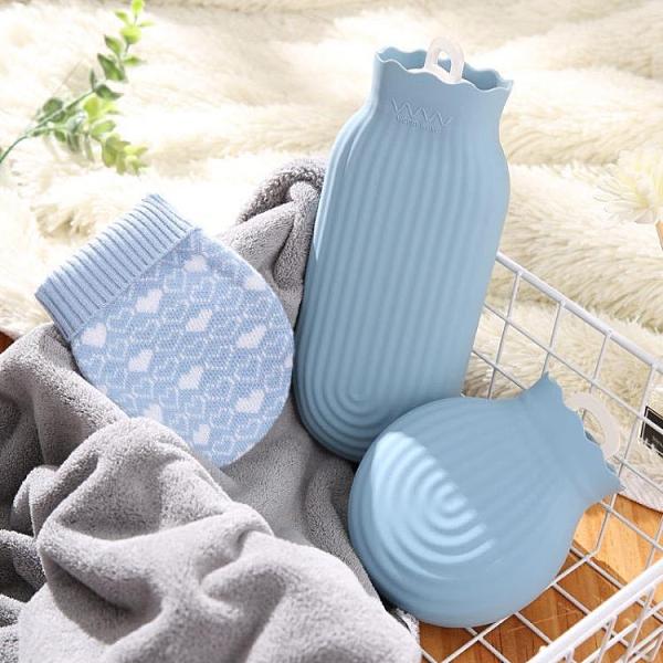 2020硅膠熱水袋注水暖手寶暖水袋迷你暖宮微波爐加熱防爆免運工廠隨身攜帶移動電源