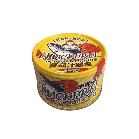 東和好媽媽無添加-蕃茄汁鯖魚(黃易)230G*3入