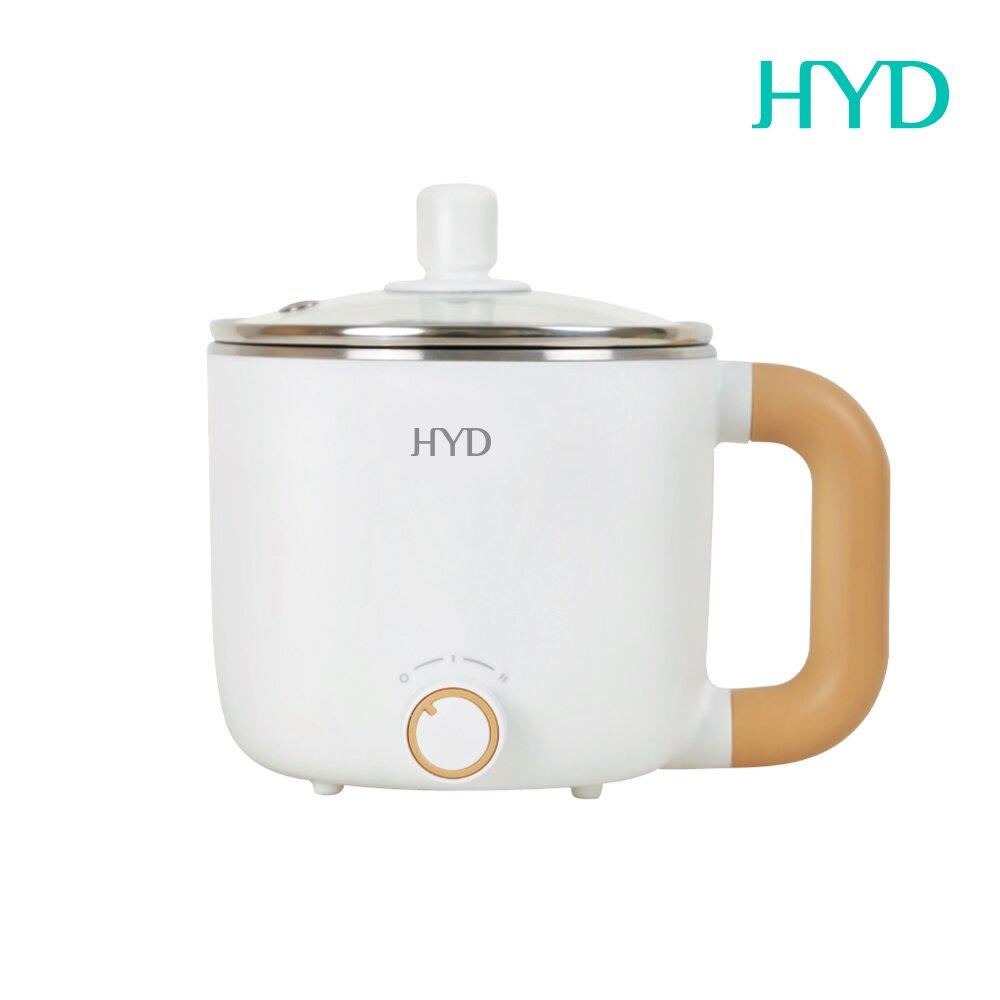 HYD 小食鍋-輕食尚料理快煮鍋(附蒸蛋架) D-522(白)