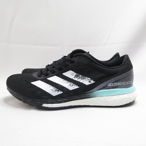 ADIDAS ADIZERO BOSTON 9 女款 運動鞋 慢跑鞋 FY0342 黑X藍【iSport愛運動】