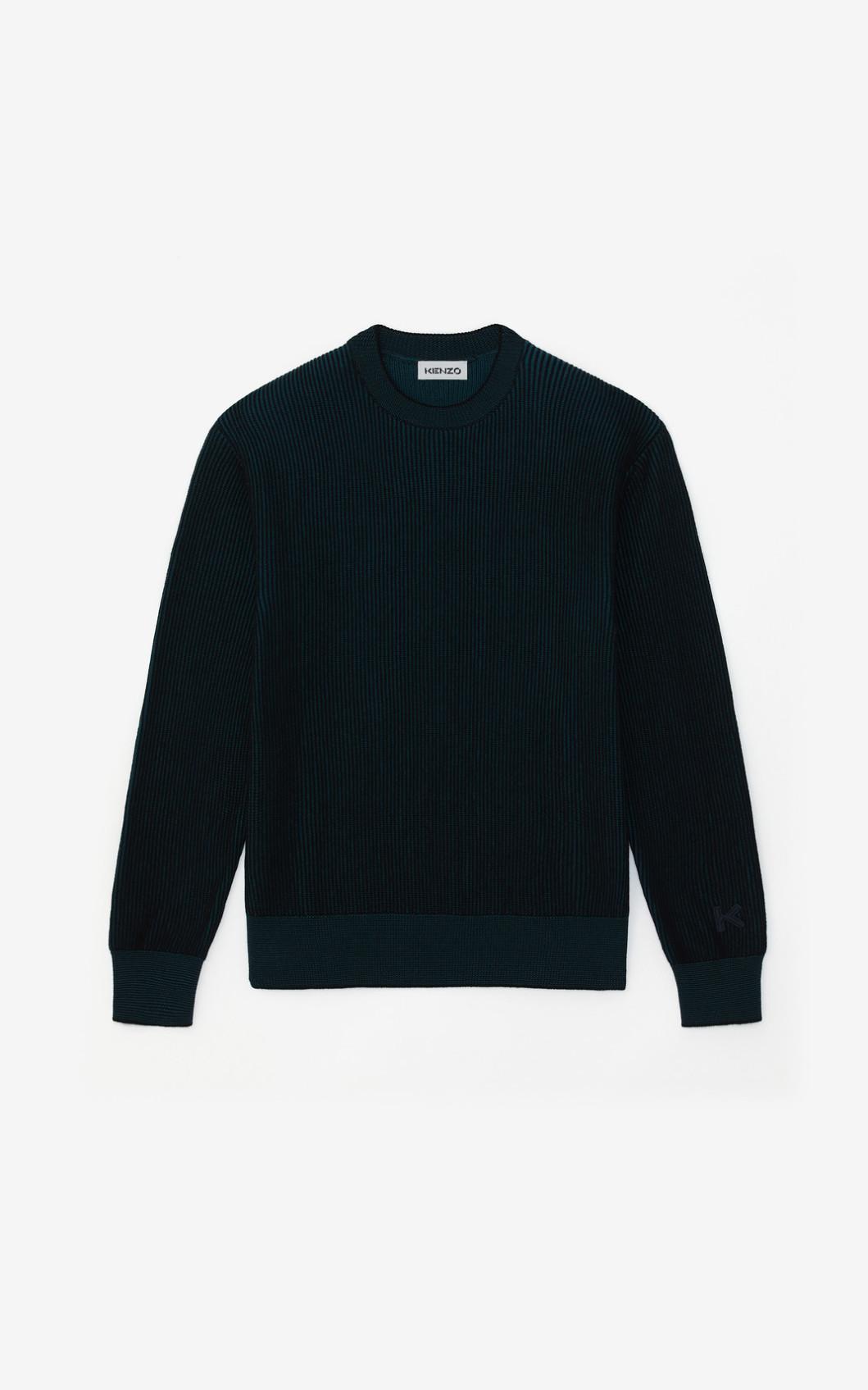 KENZO Pull bicolore