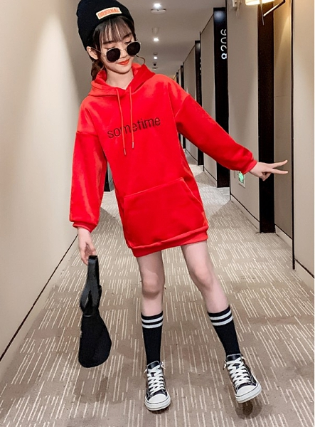 衣童趣(•‿•)韓版女童 秋冬加厚保暖上衣 可愛兔耳朵 長版T恤