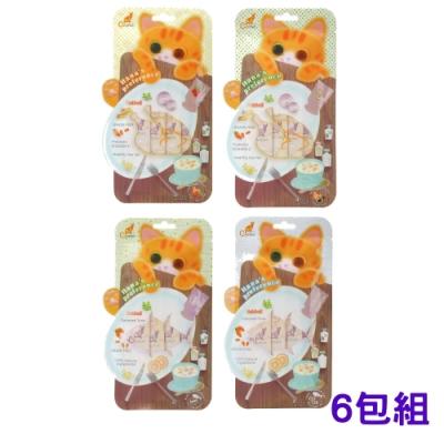 CAT FEET哈娜最愛好吃肉泥系列 15公克/4入 (6包組)