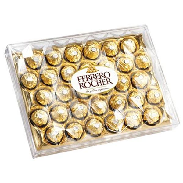 金莎巧克力32粒裝金鑽豪華禮盒【愛買】